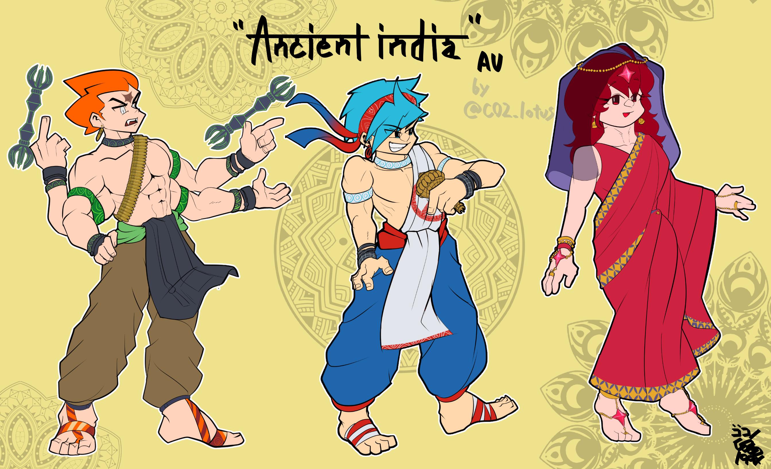 """""""Ancient India AU"""""""