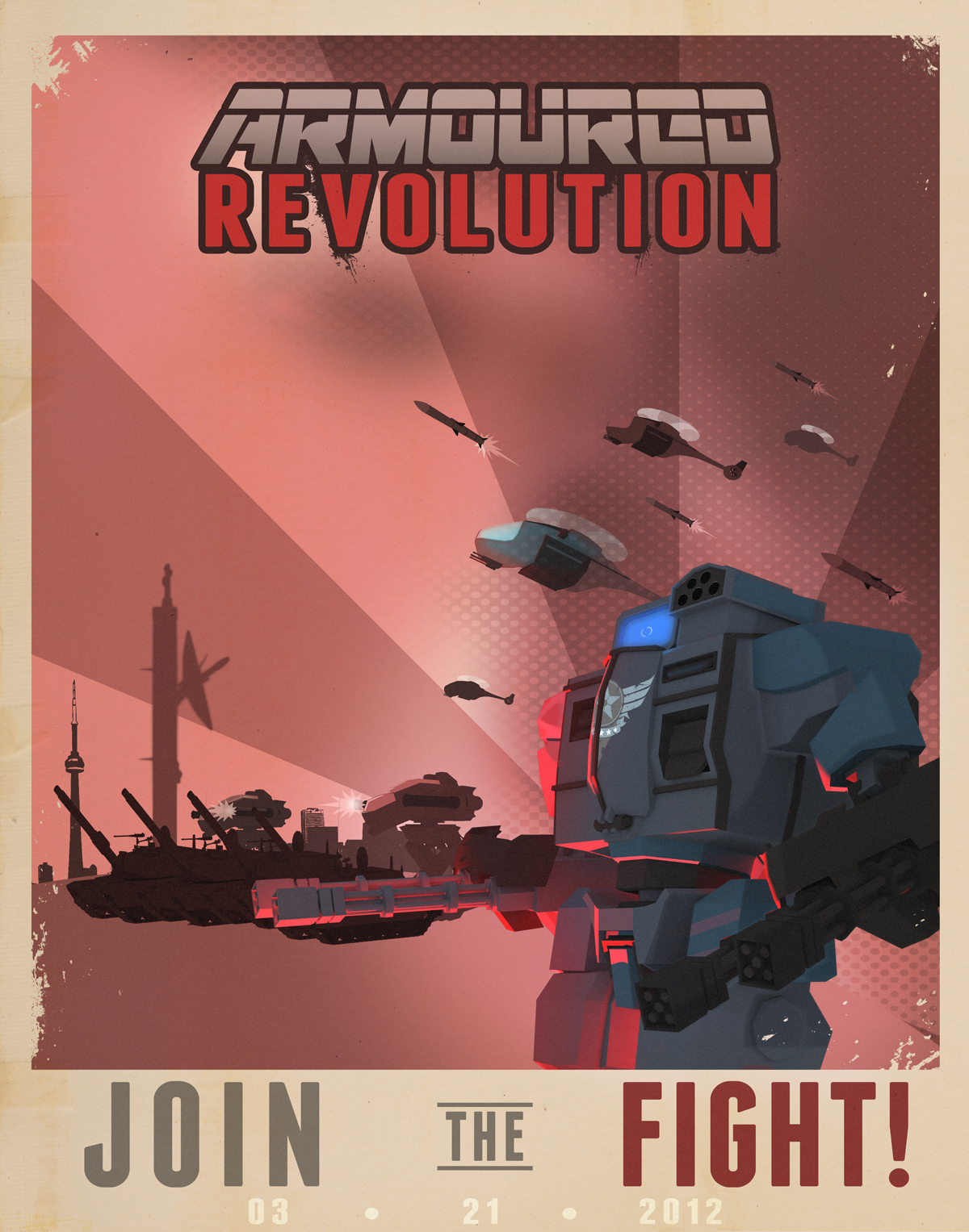 Armoured Revolution Poster