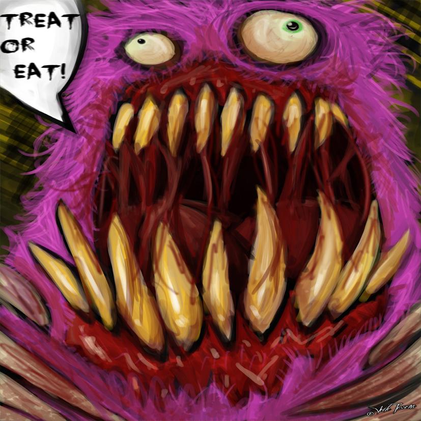 Fluffy Candy Monster