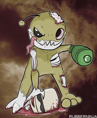 Alien Hominid Zombie