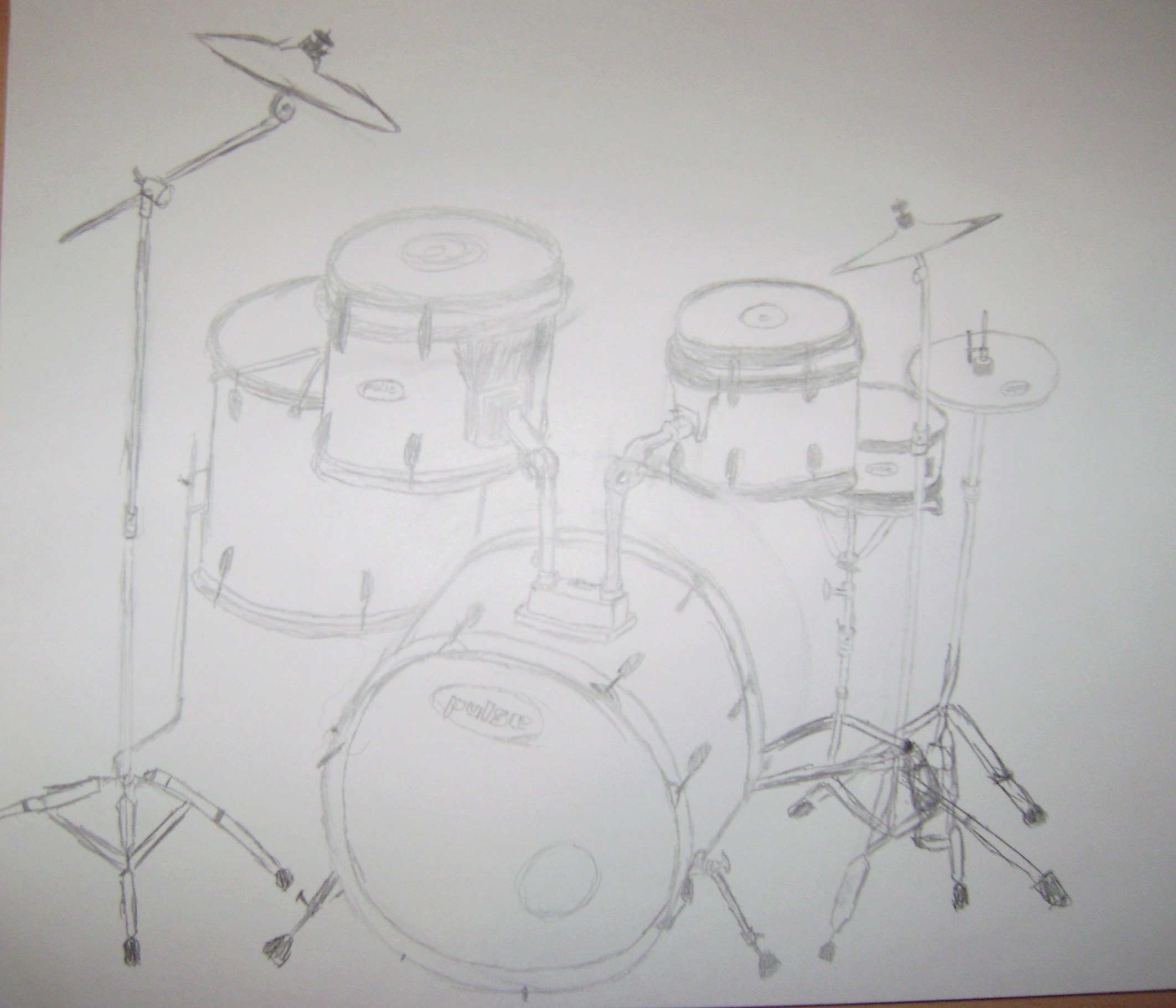 Drumset Sketch