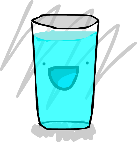 Garry The Glass of Water