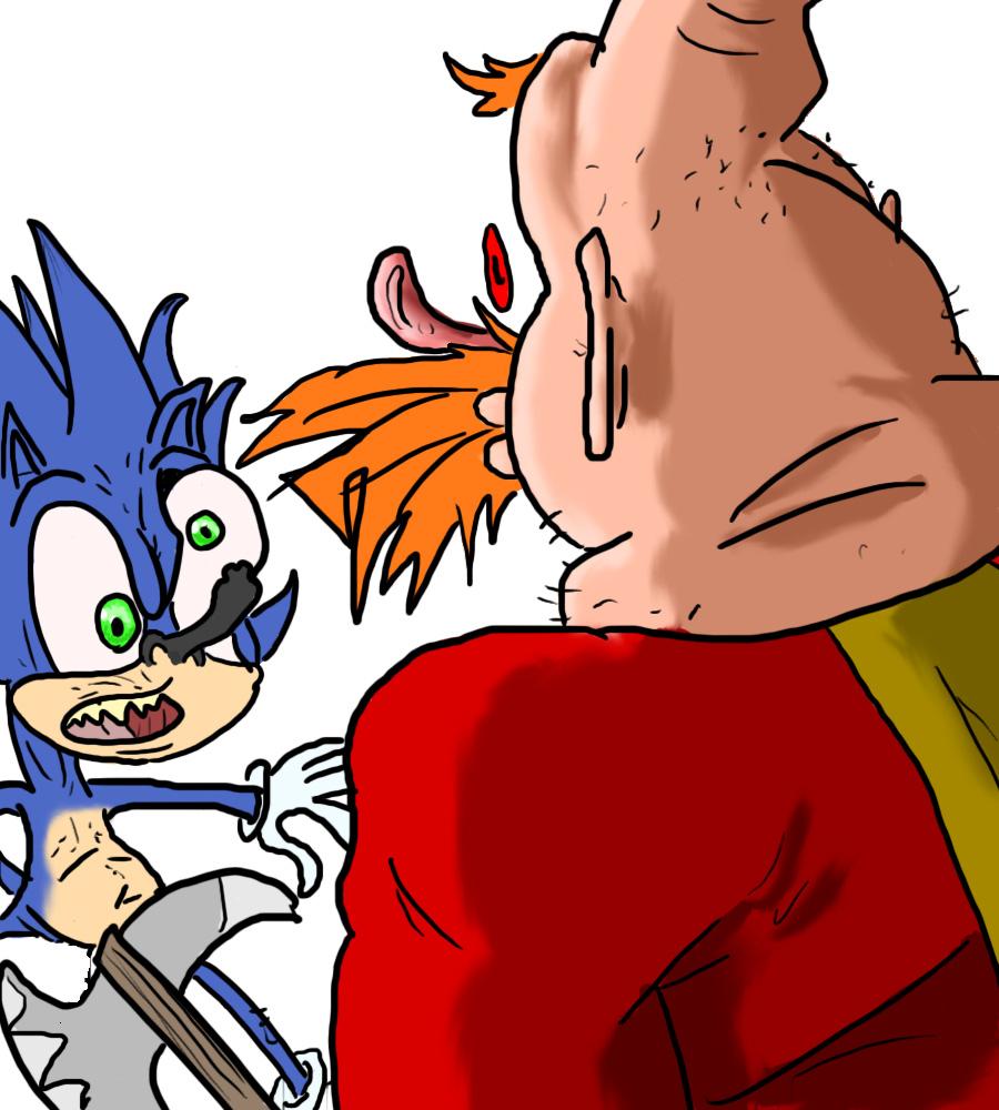 ...That Hedgehog!