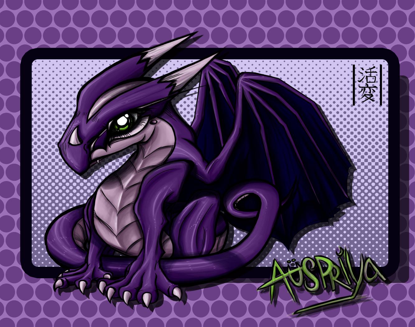 Auspriya the Purple Dragon