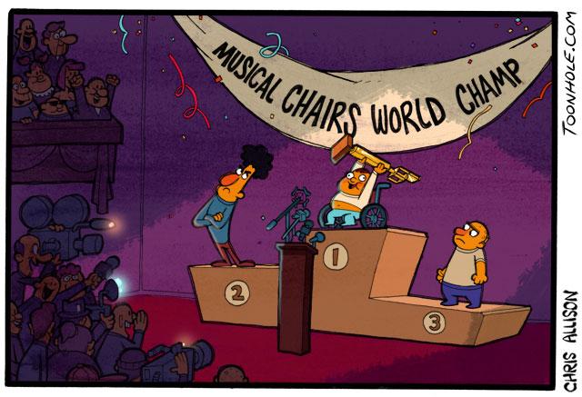 Musical Chairs World Champ