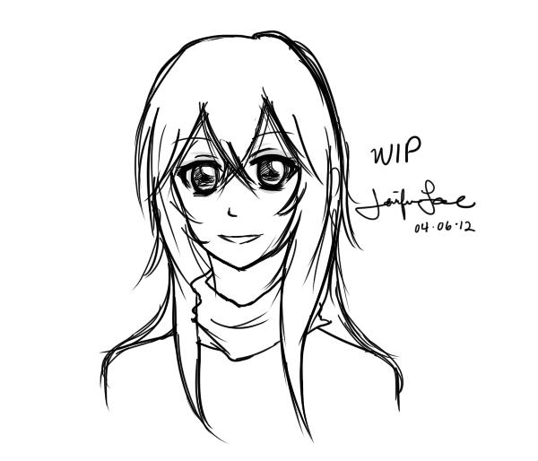 WIP - Misaki (FA)