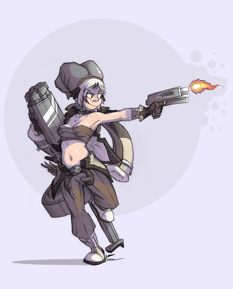 Ragnarok Online Gunslinger