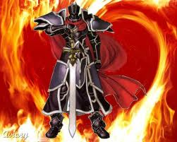 the knight of flames