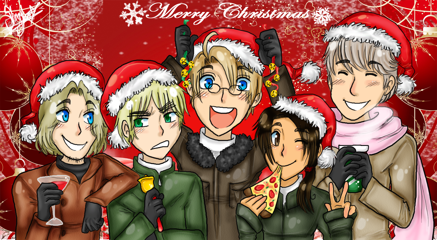 .:Allies Wish You A Merry Xmas
