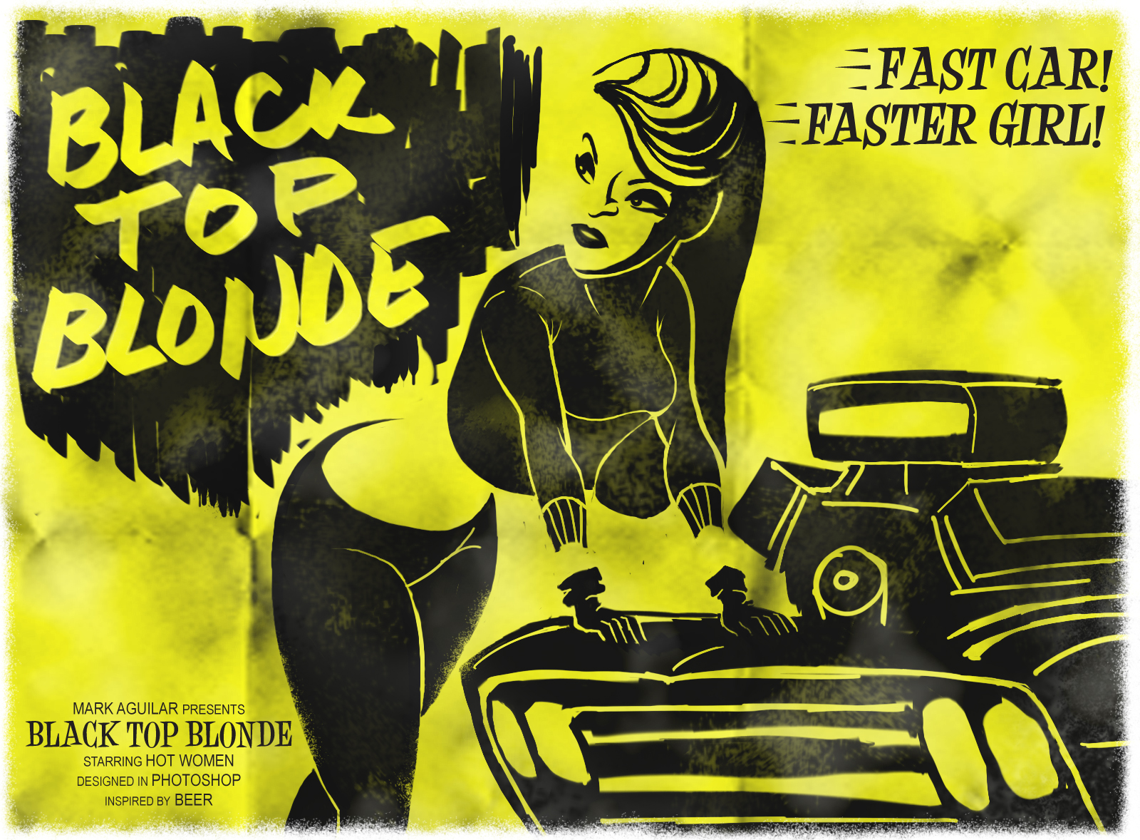Black Top Blonde