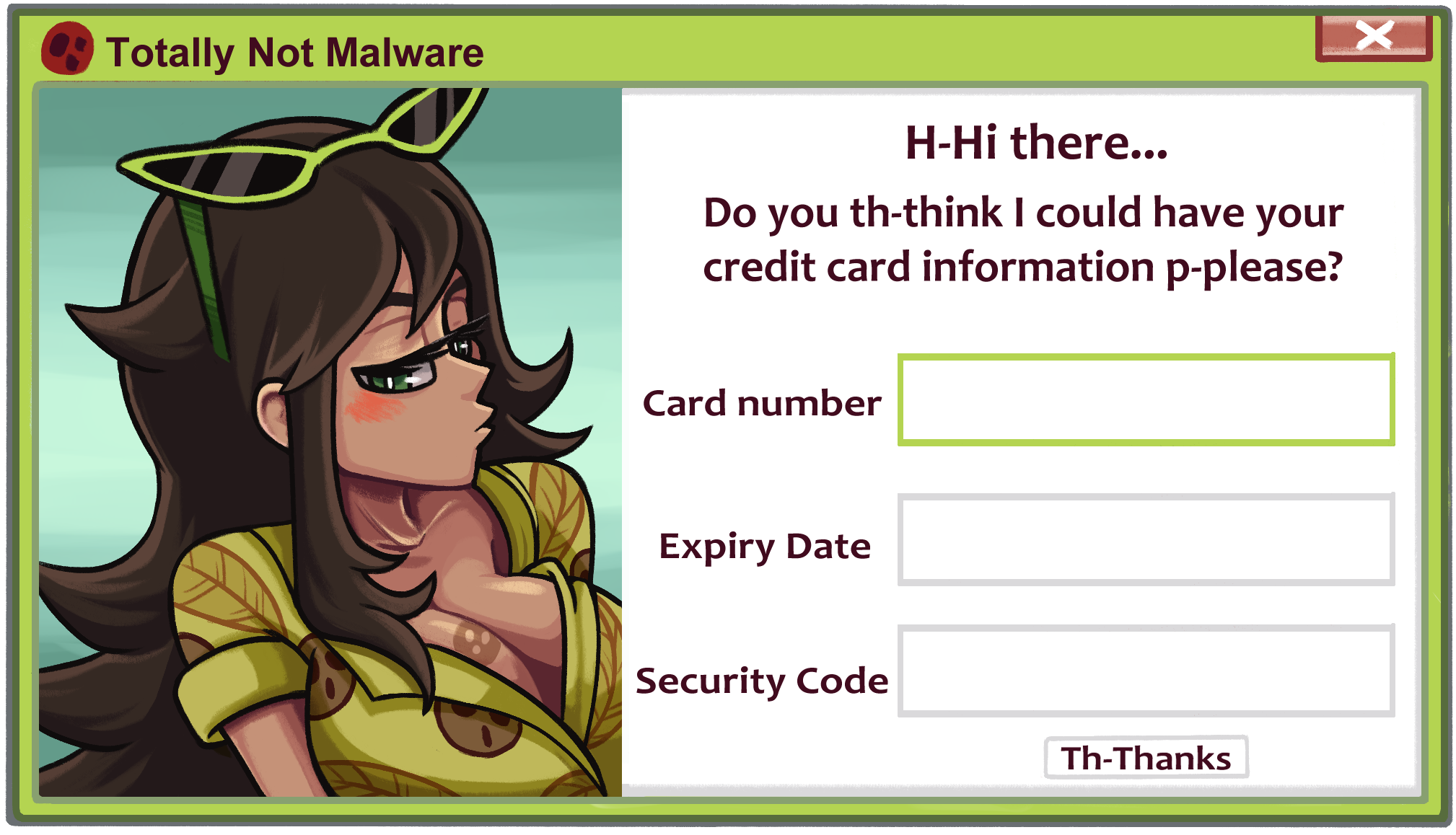 Totally Not Malware