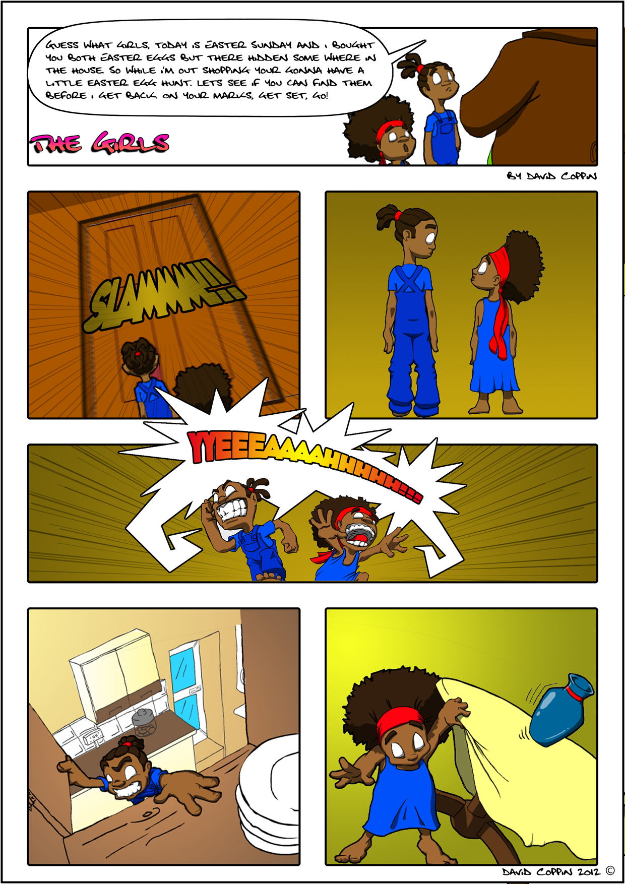 The Girl Easter Special page 1