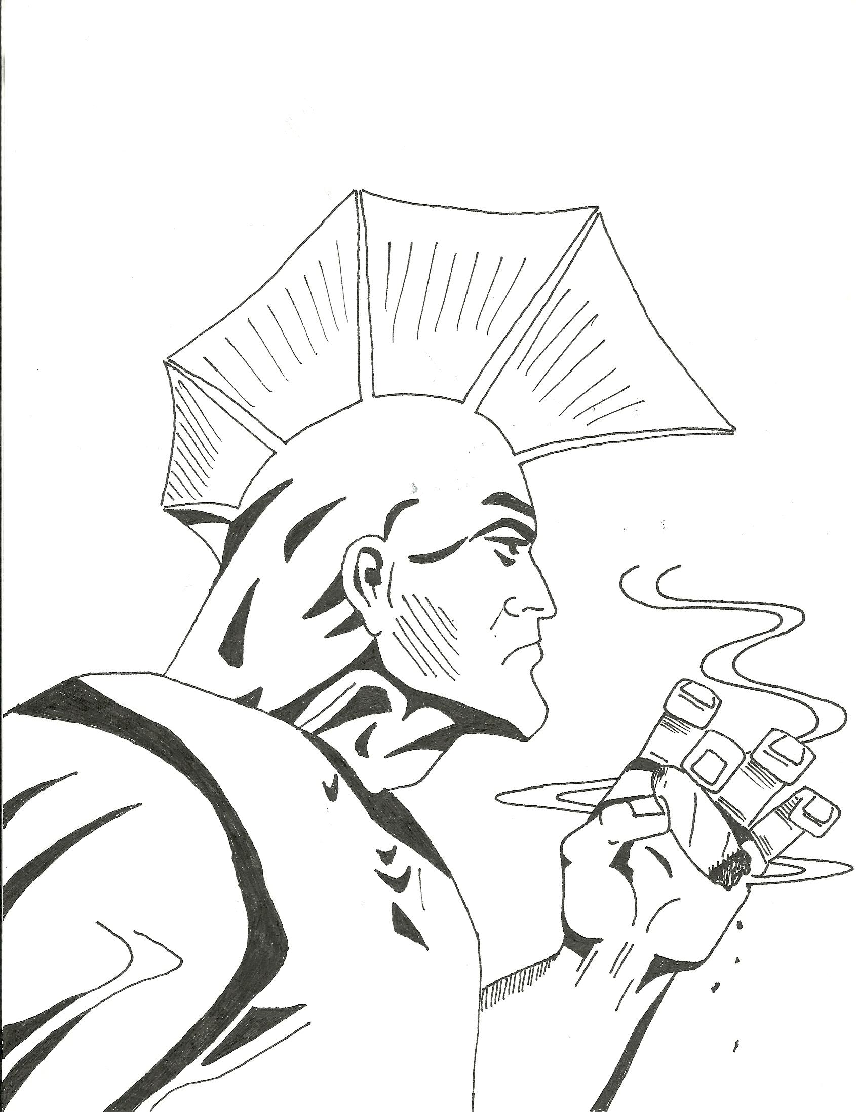 Savage Dragon: Smoke Break