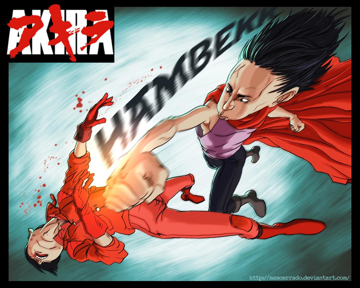 Kaneda vs Tetsuo