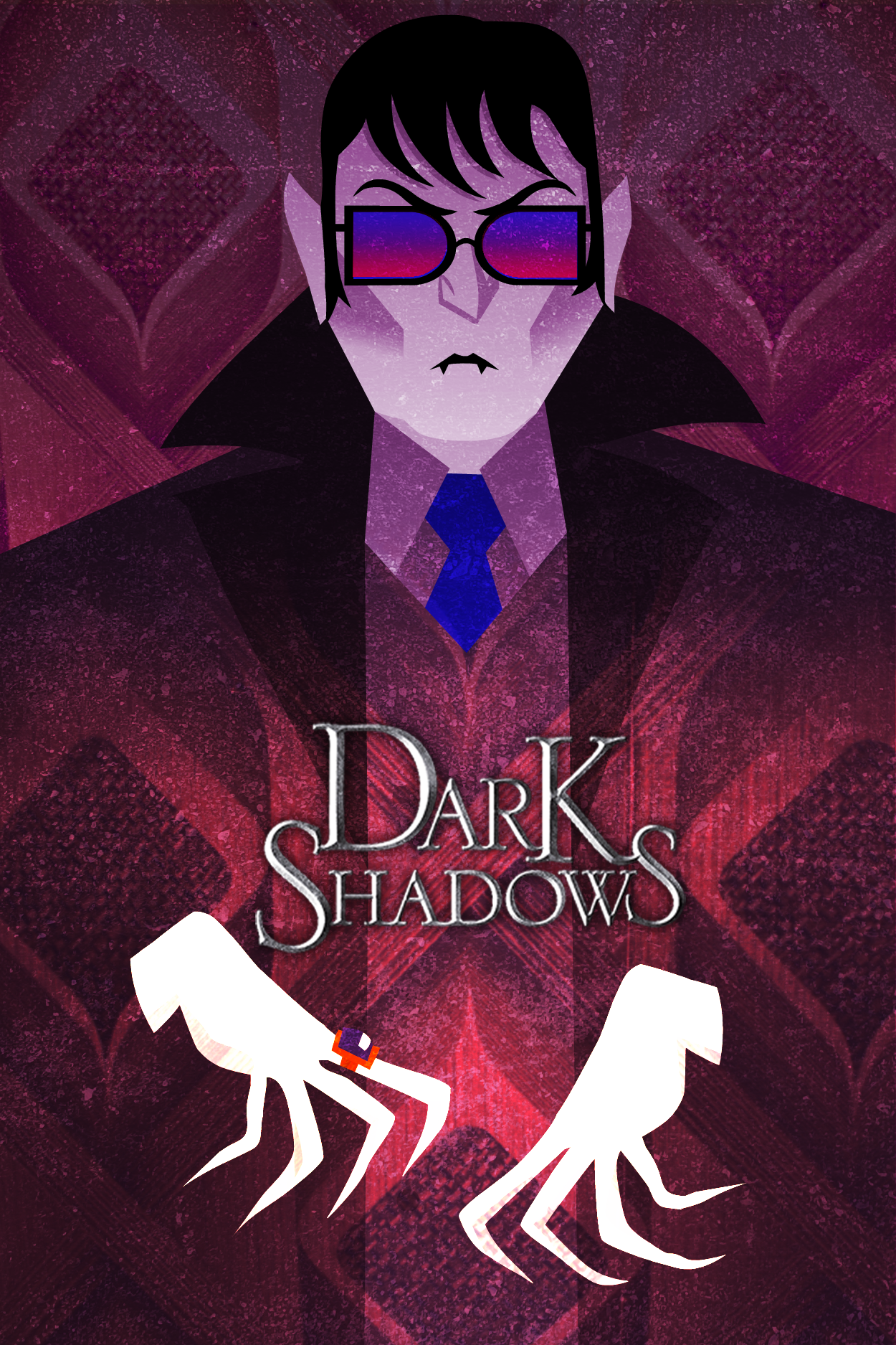 Dark Shadows Portrait Poster