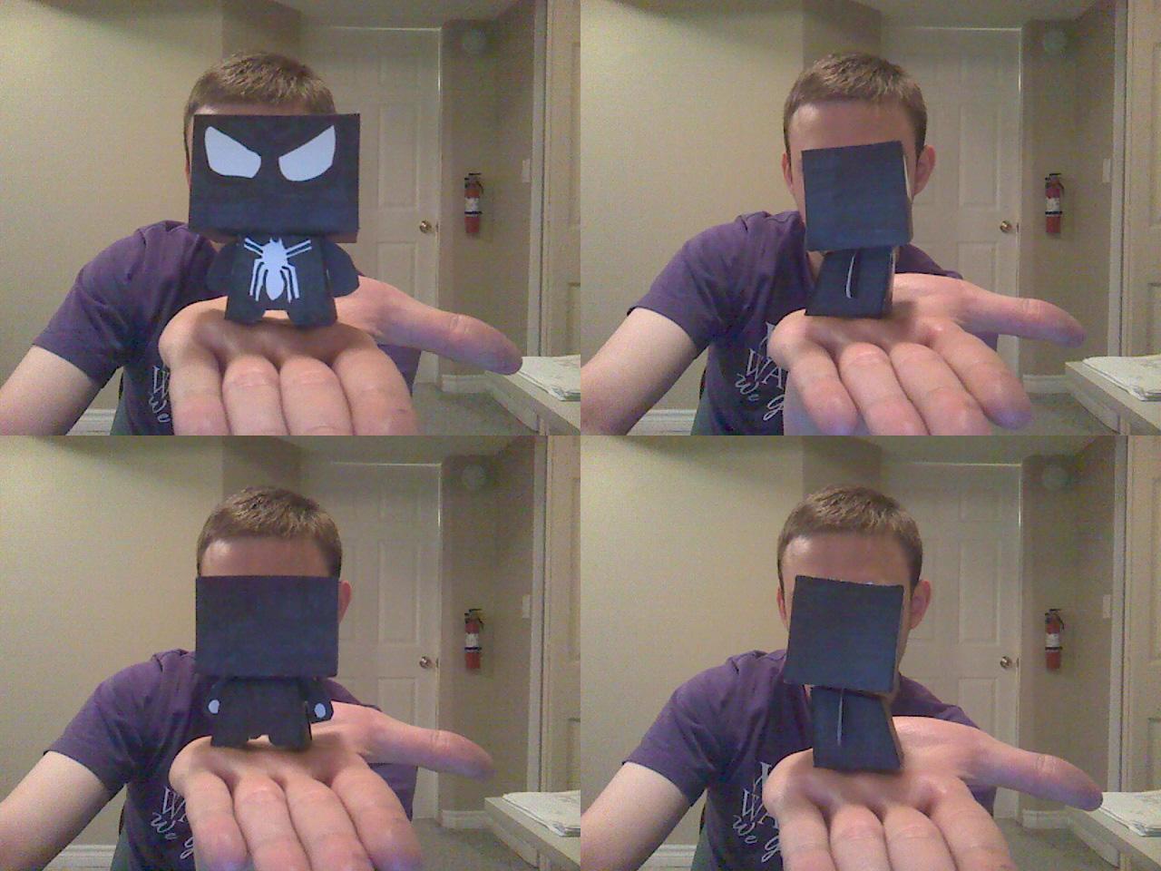 Papercraft Black Spiderman