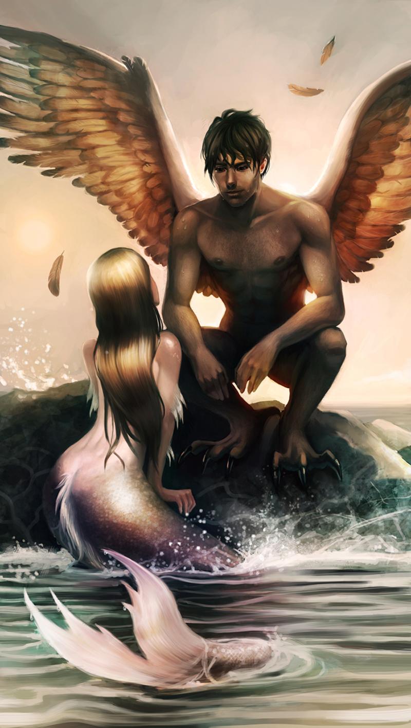 In syreni et angelus