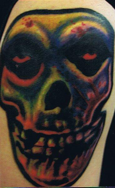 color fiend skull