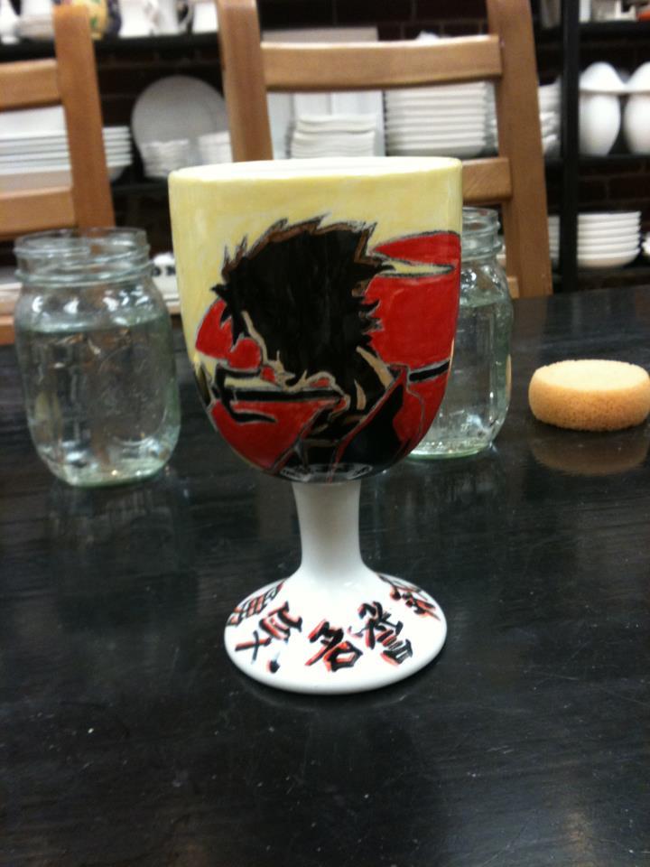 Ceramic art! Samurai Mug