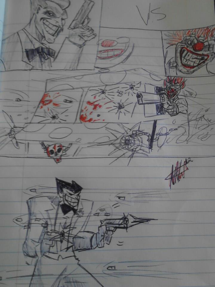 VS! Joker/Sweet tooth lmao