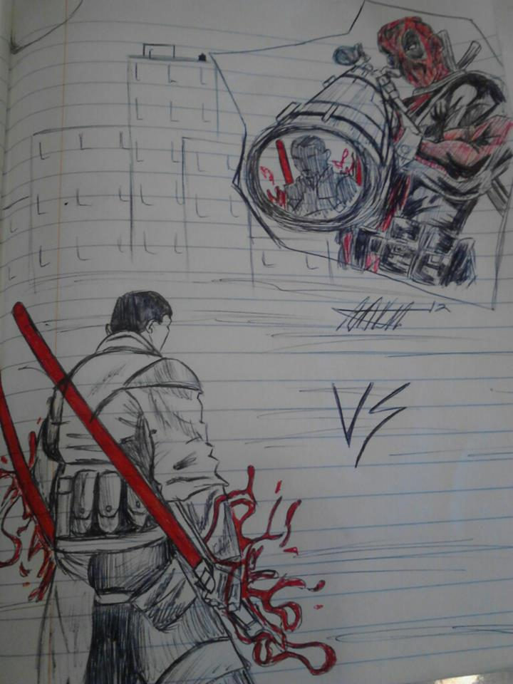 VS! Deadpool/Galen Marek