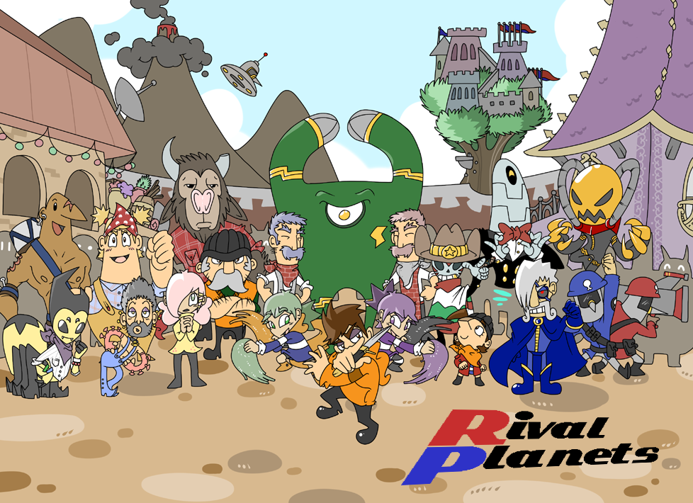 Rival Planets Banner 2012
