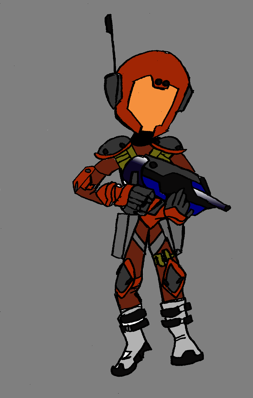 Galactix Space Soldier