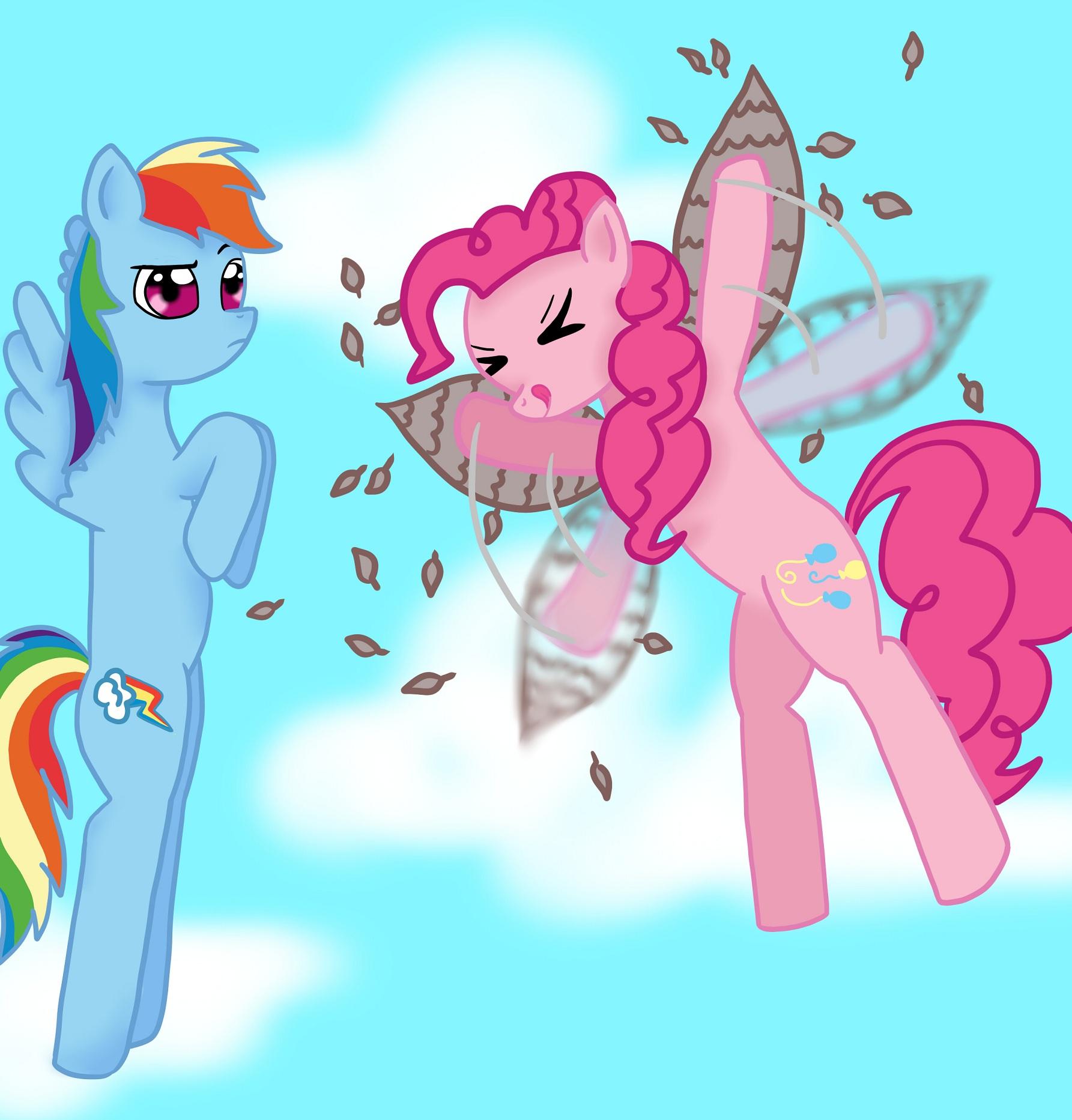 Pinkie's Flying Machine