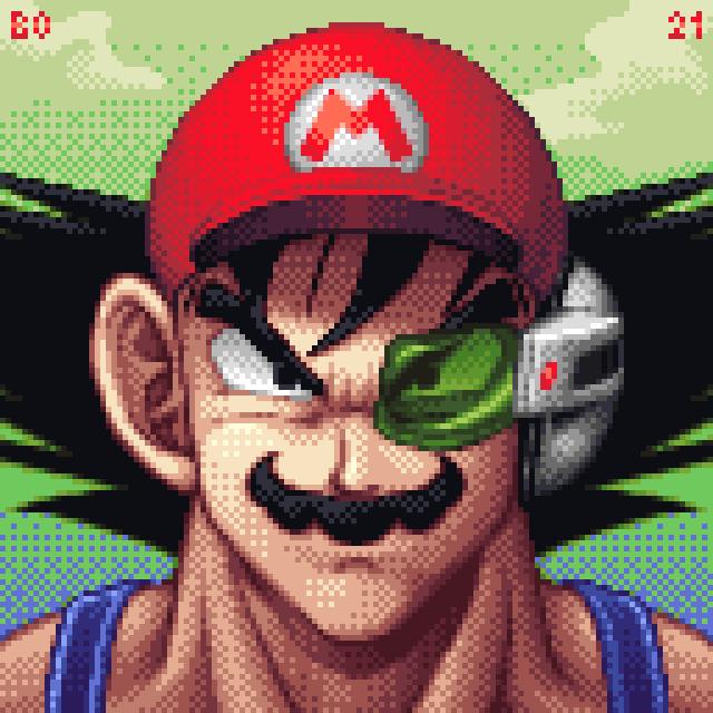 It's-a me, Goku!