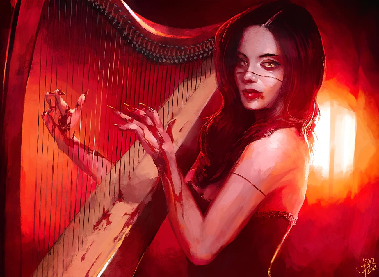 Blood Harpist