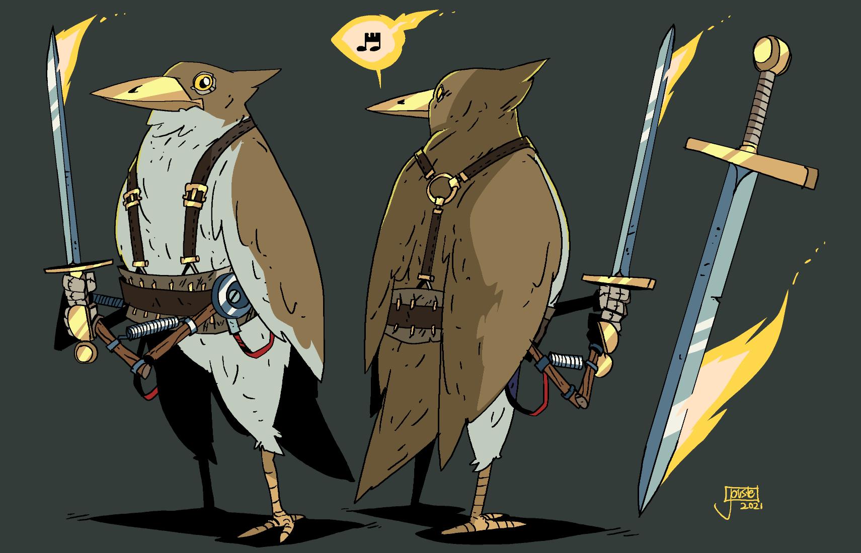 Sir Bird the Knightengale