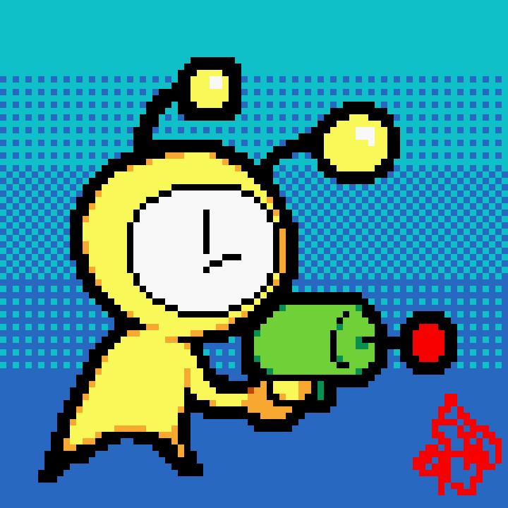 Alien Hominid Clock