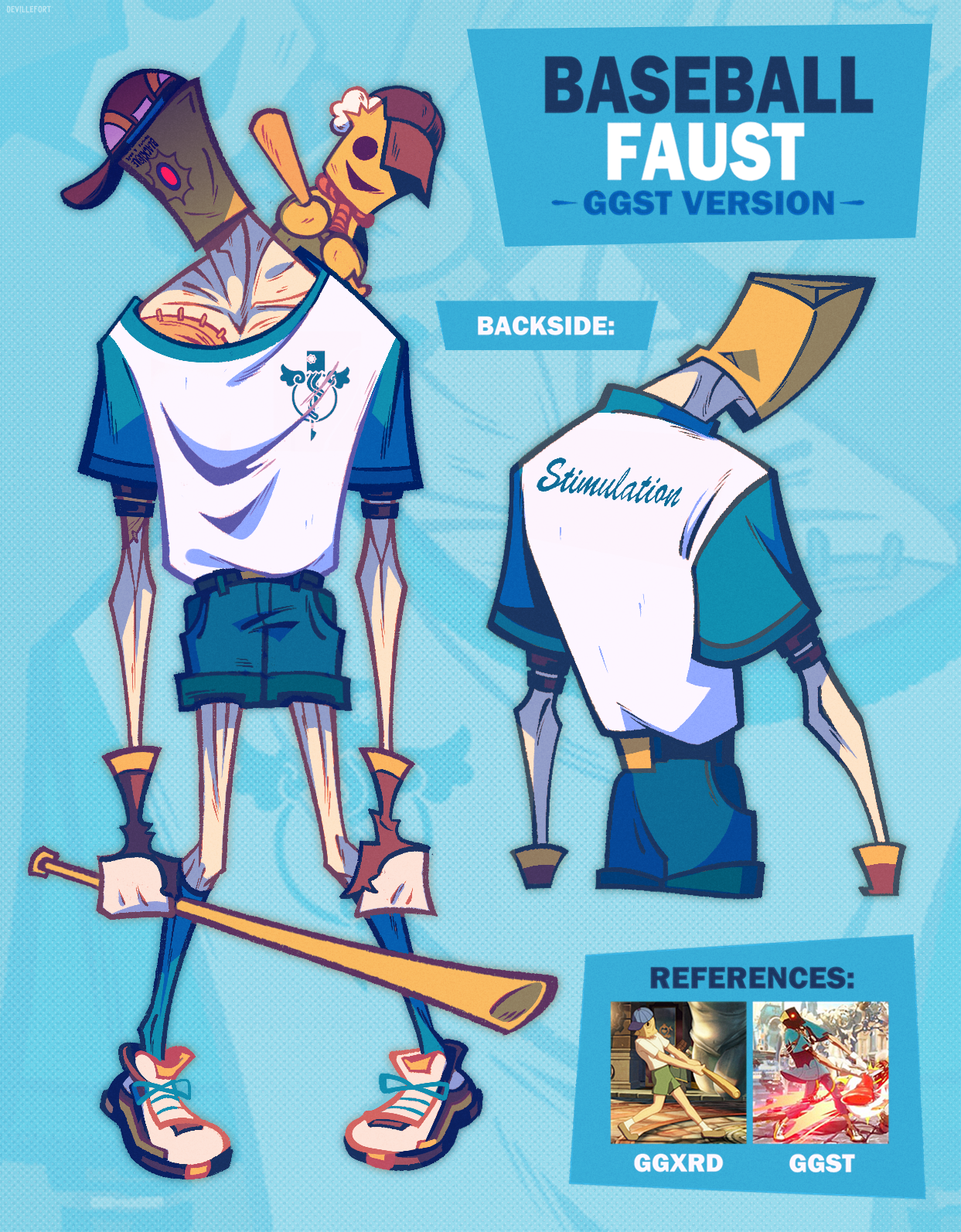 Baseball Faust (GGST Version)