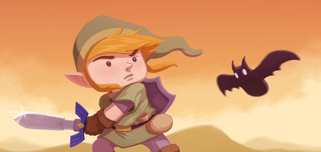 Link vs Keese