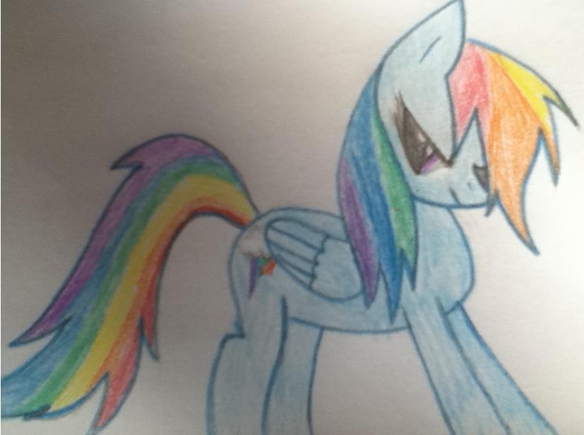 Rainbow Dash - Drawn