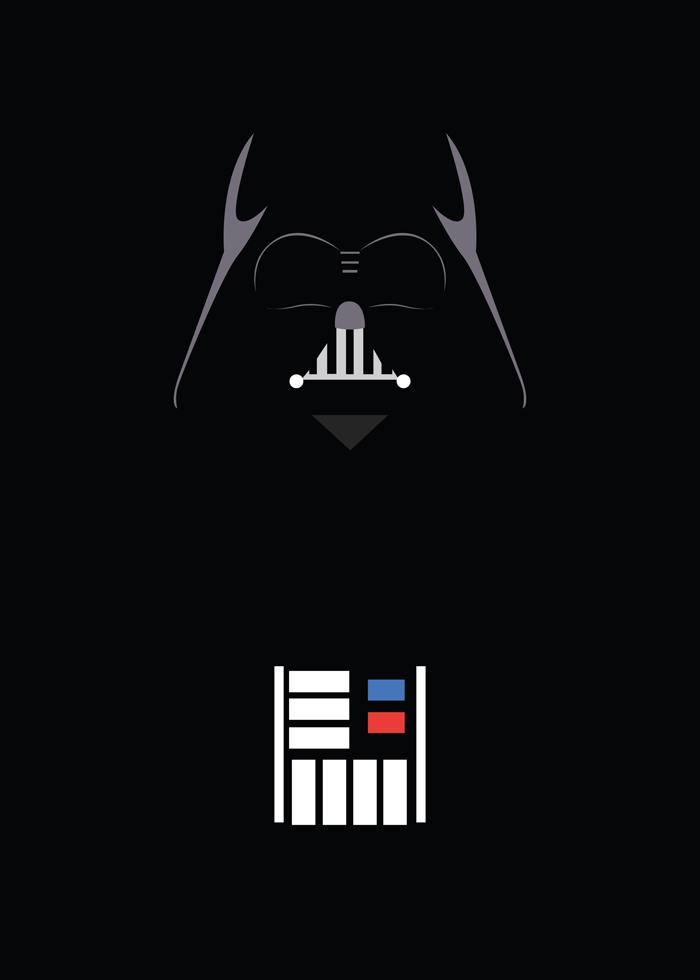 Darth Vader Minimalism