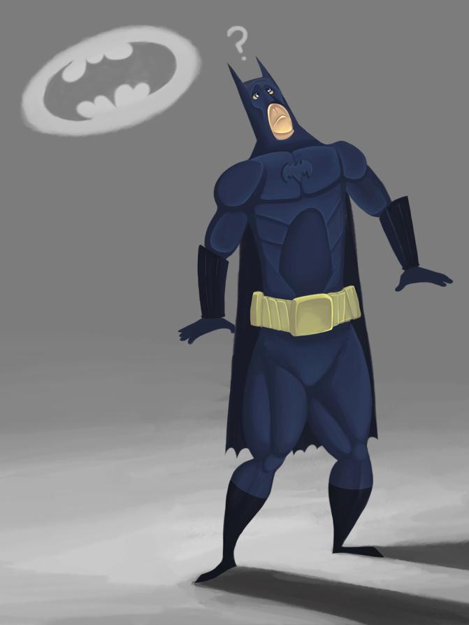 The Bat Signal?