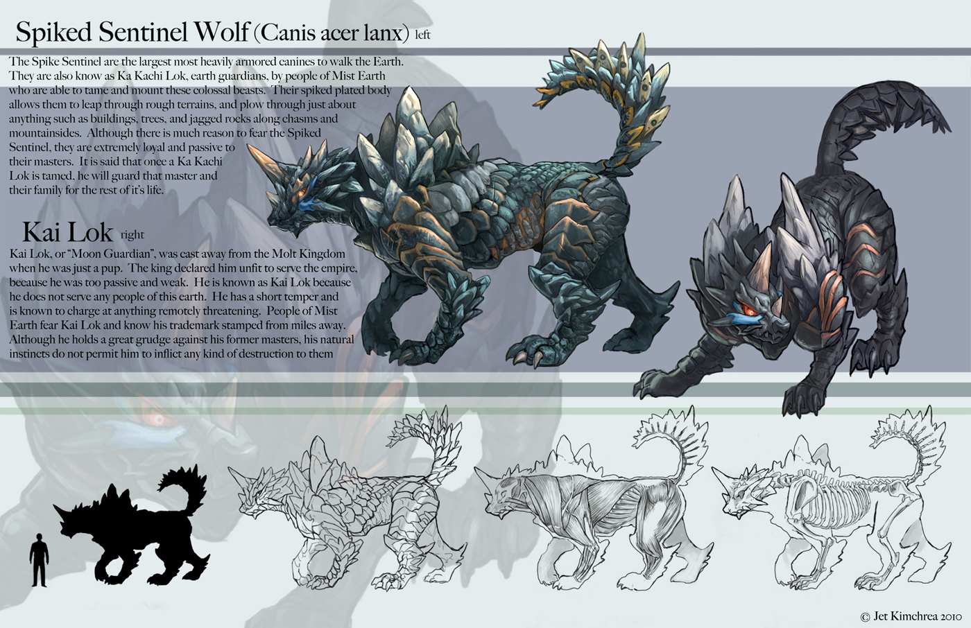 Spiked Sentinel Wolf