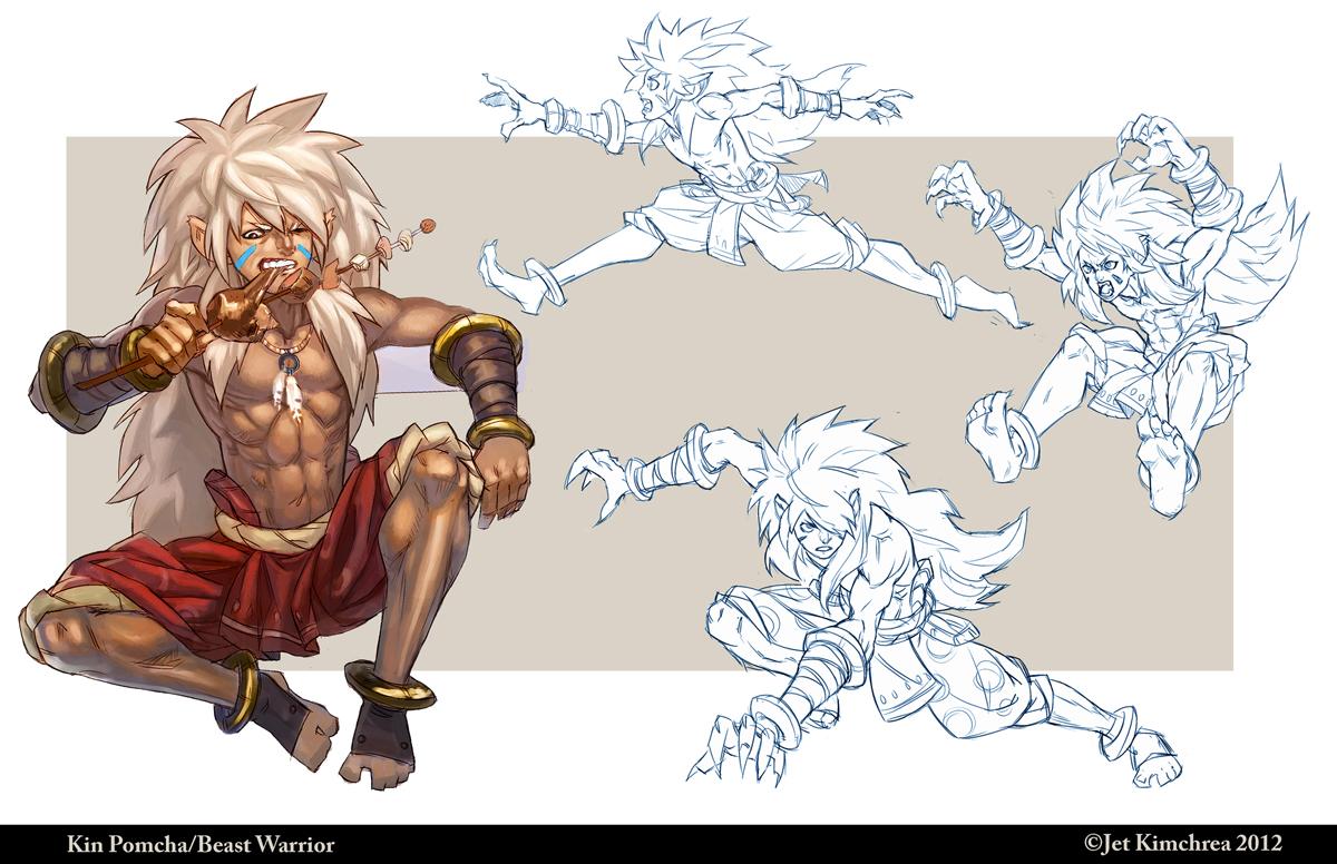 Beast Warrior Kin Pomcha