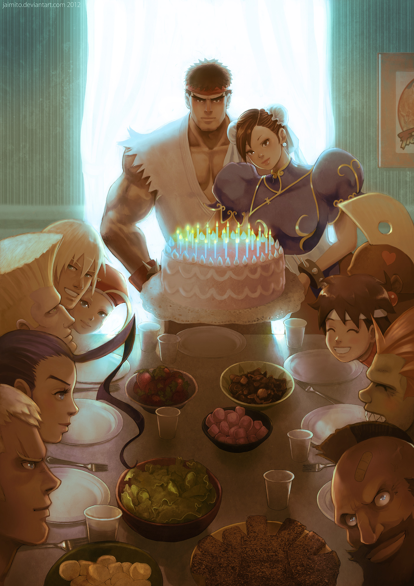 Street Fighter 25th Tribute