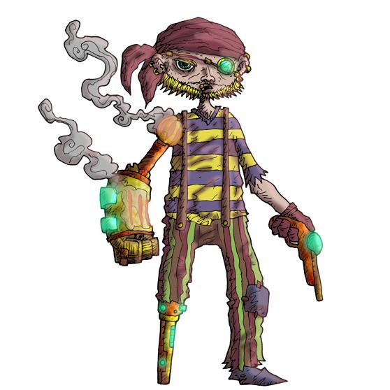 steampunk pirates, ahoy!!