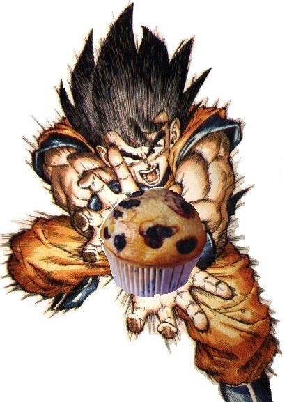 Goku Muffin Attack