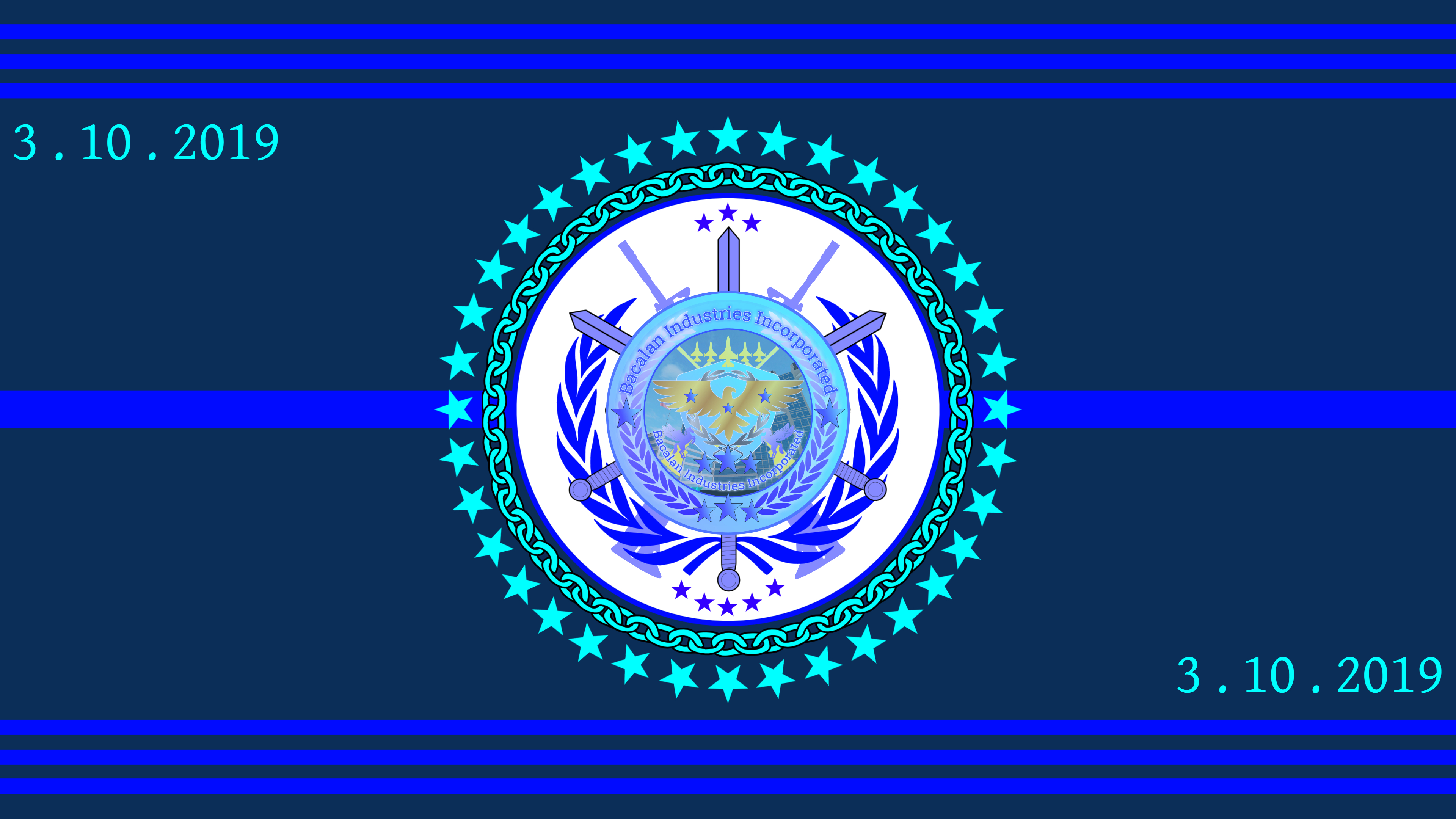 Grand Commander-in-Chief Officers of Bacalan Industries Incorporated Flag