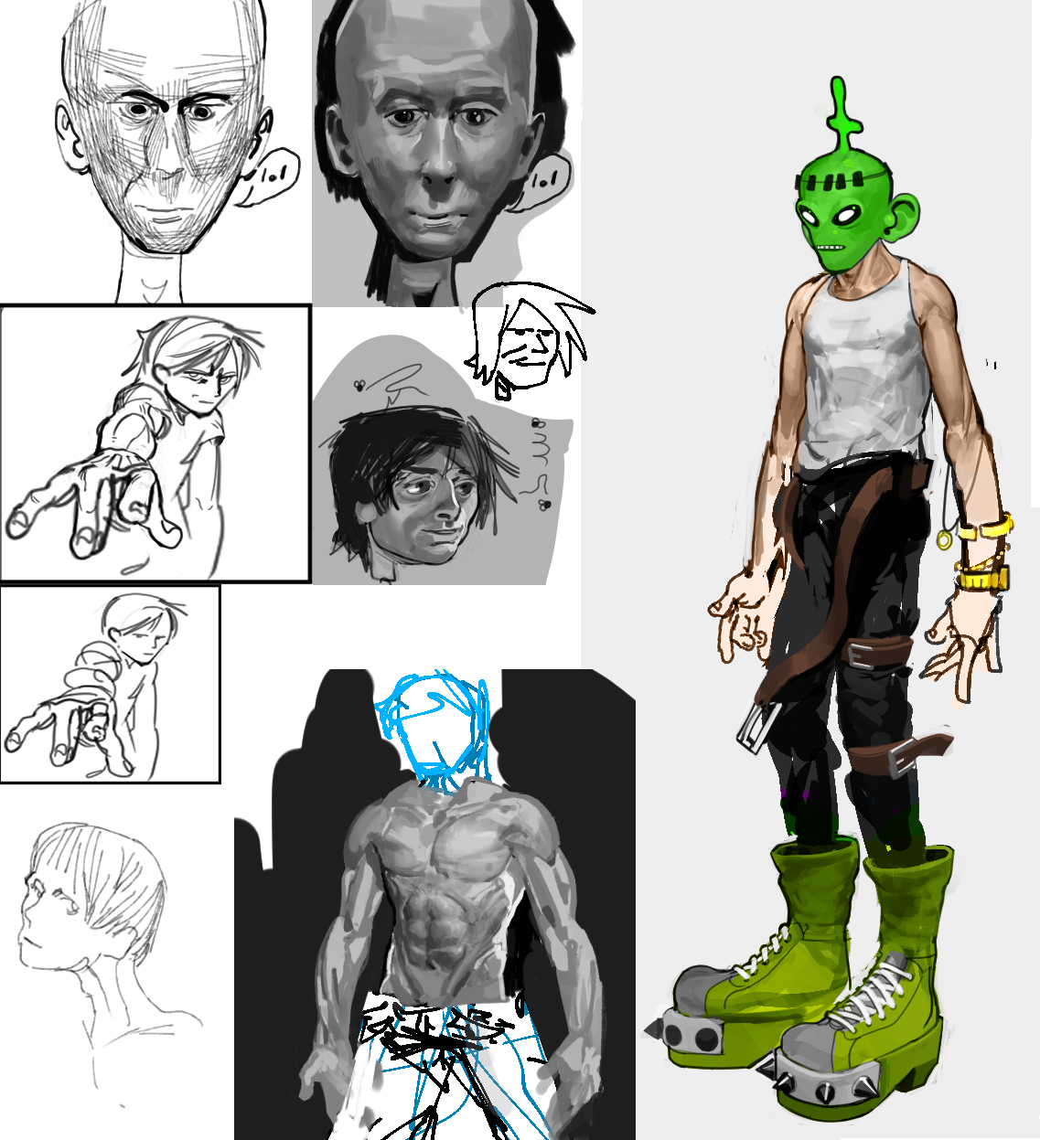 Boot Drip and other sketches