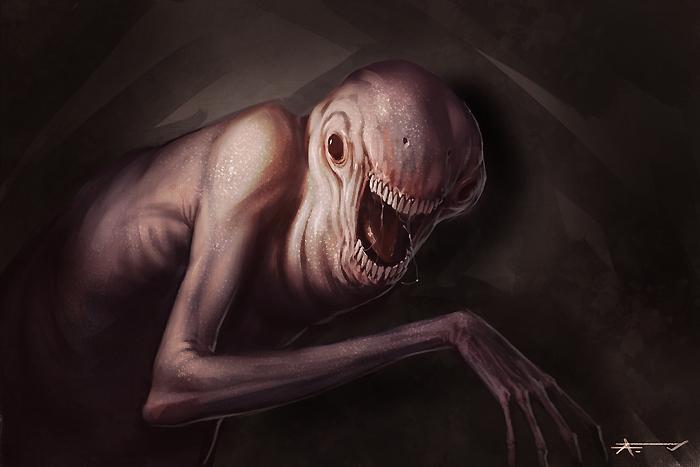 Creature Speedpainting