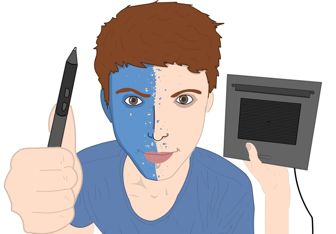 Self Portrait: Holacray