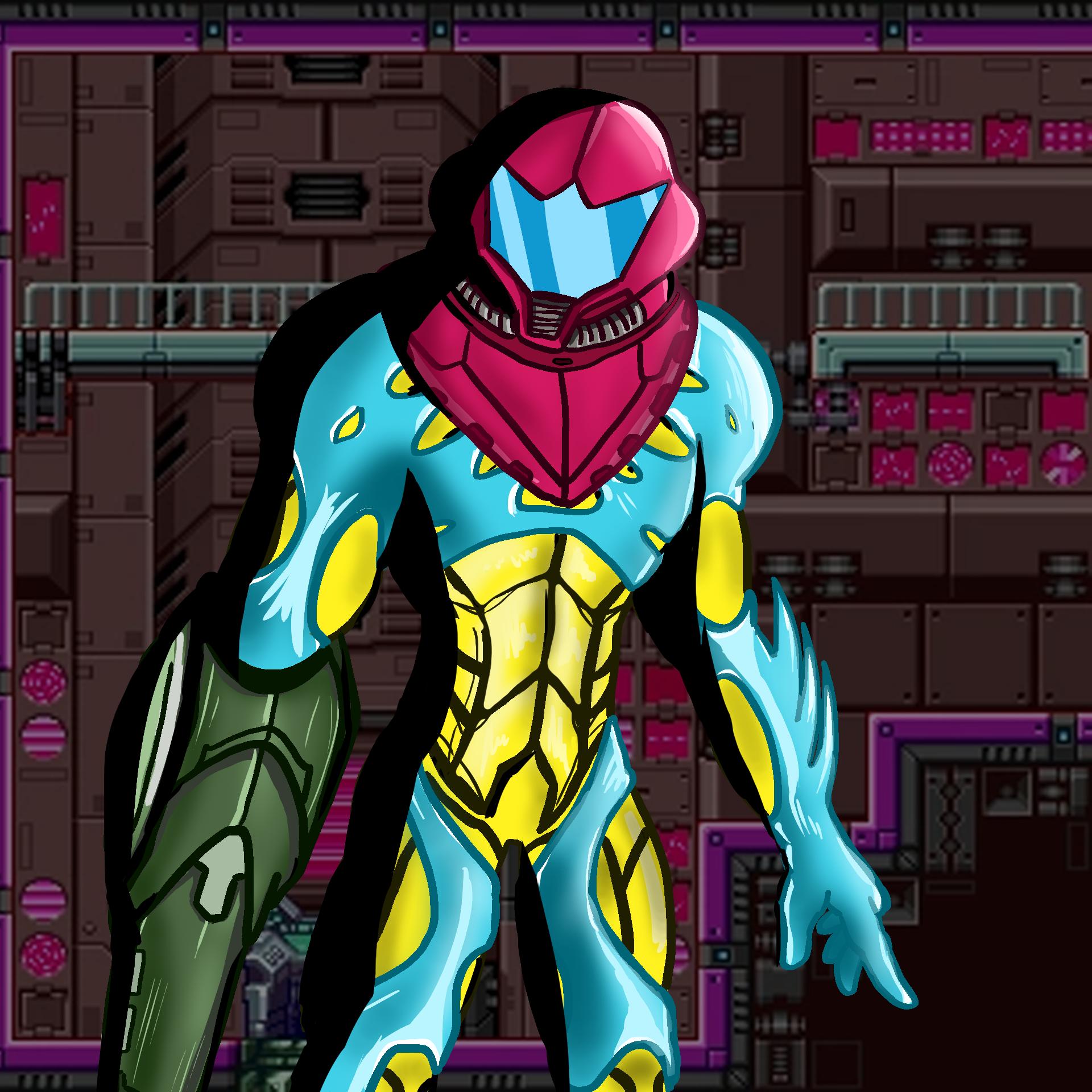 Metroid Fusion - Power Suit