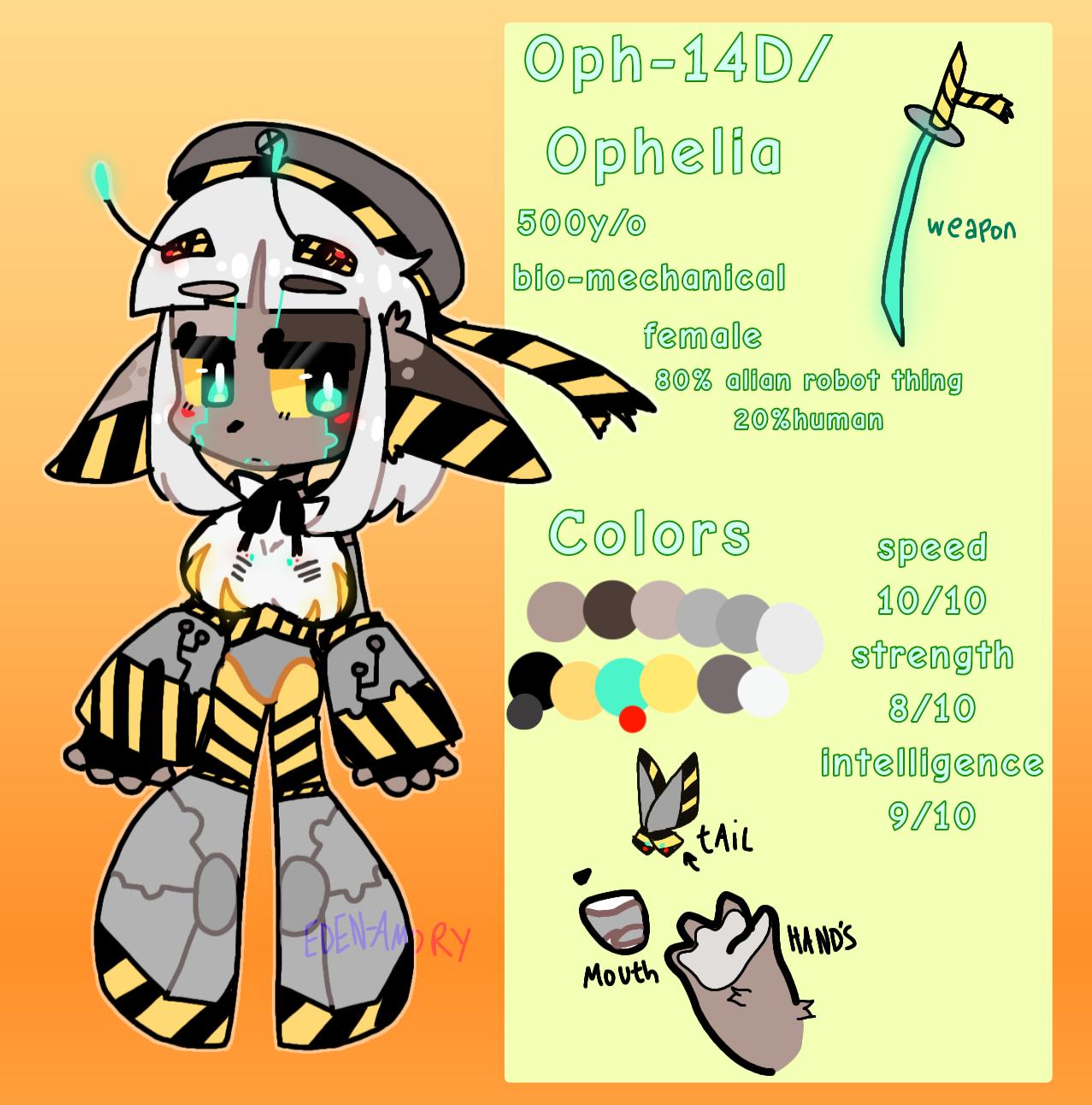 Meet Ophelia