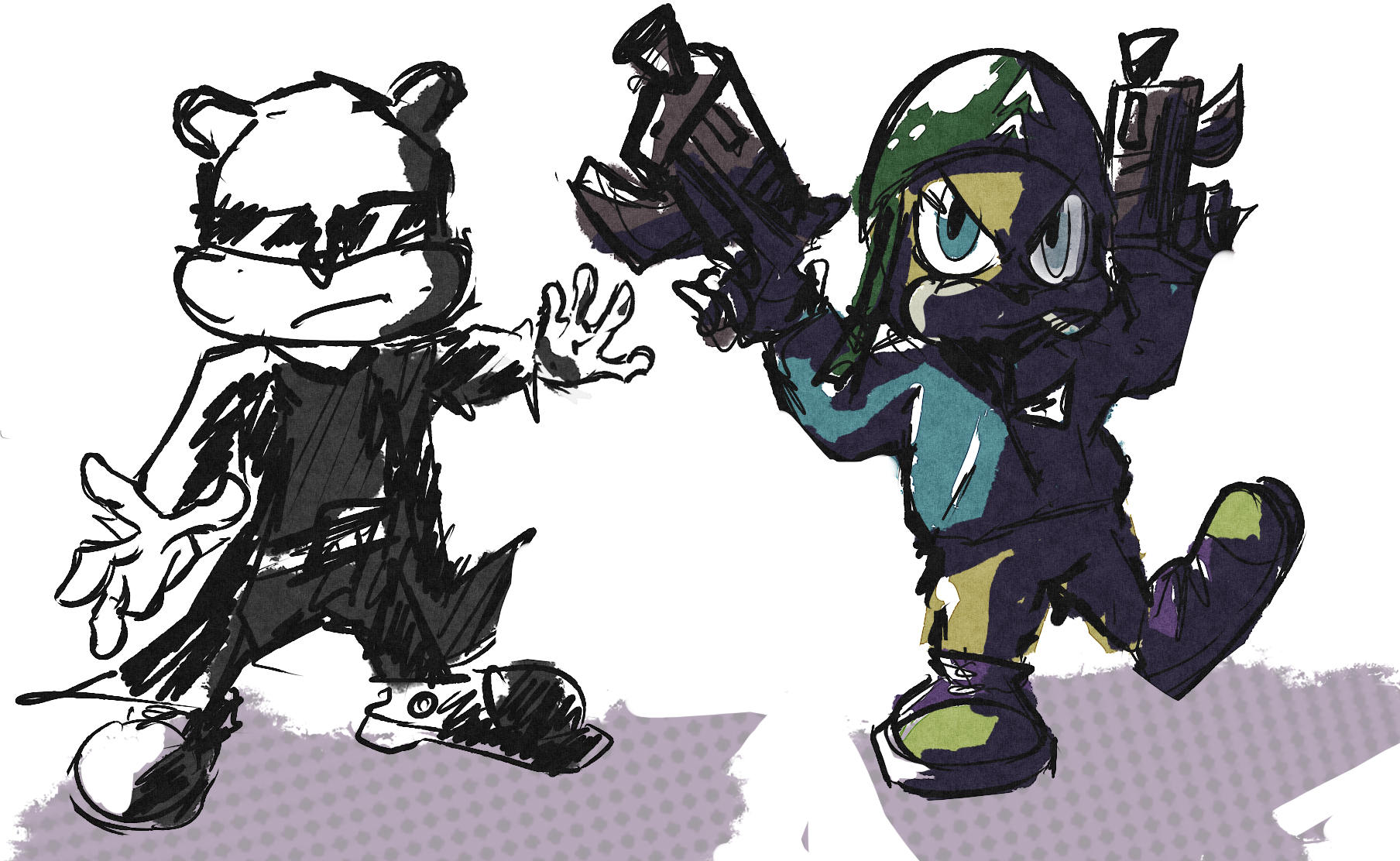 even more random schtuff ive drawn