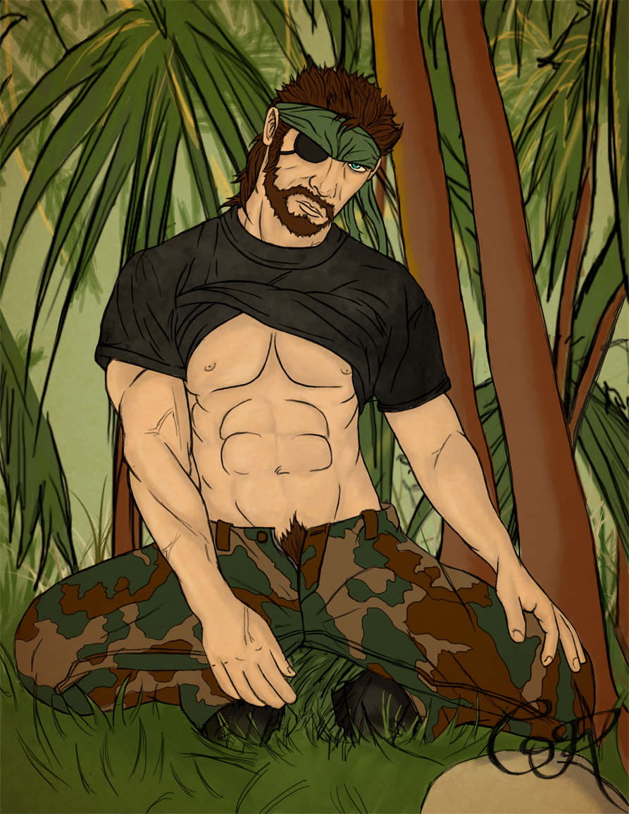 Big Boss Pin Up